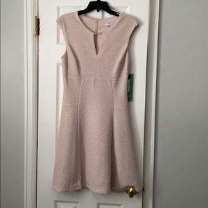 NWT Gold cocktail dress